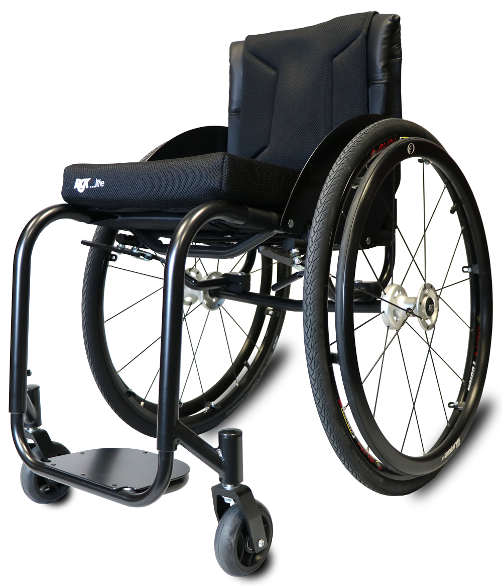 Chrome Moly Lightweight Manual Wheelchair