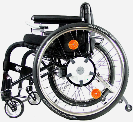 e-fix I hand controlled power chair